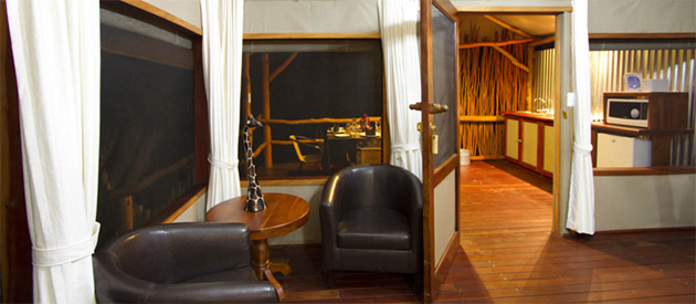 Camp Nkwazi - Livingstone accommodation - Zambia