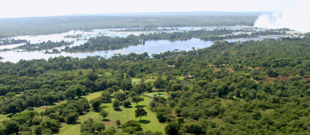 Livingstone, in the Southern Province of Zambia