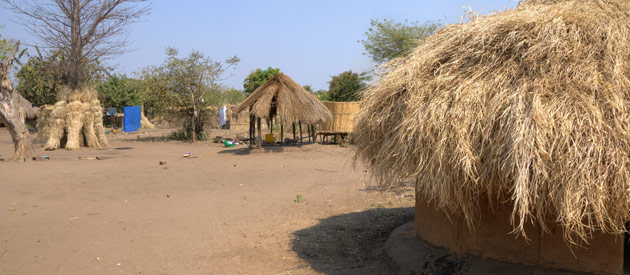 Itezhi-Tezhi, in Central Zambia
